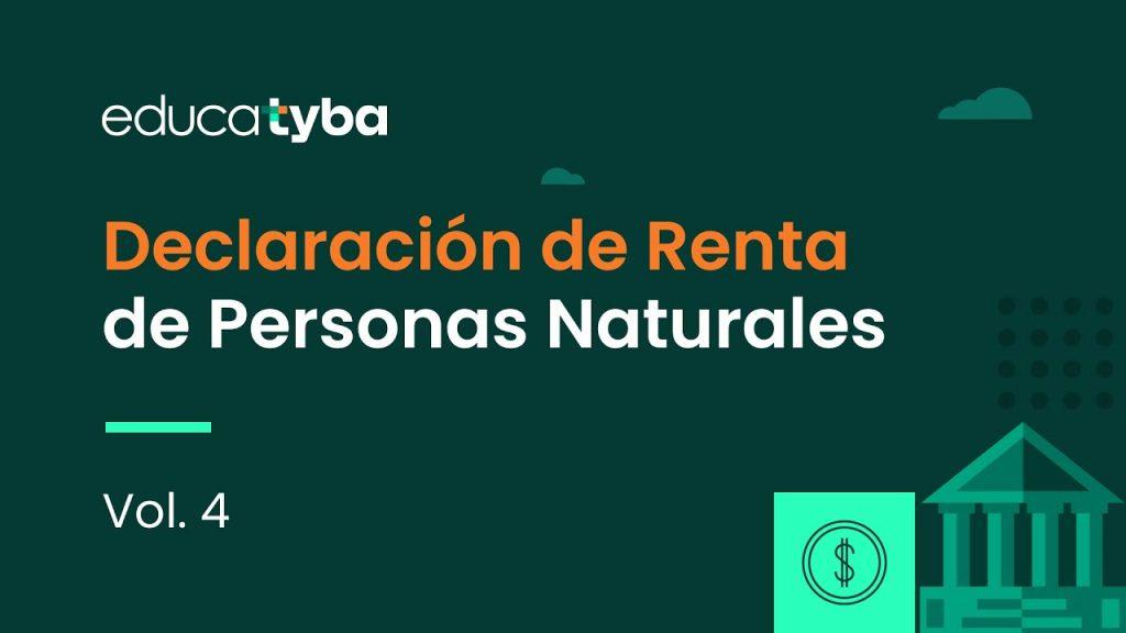 Declaración de renta de personas naturales