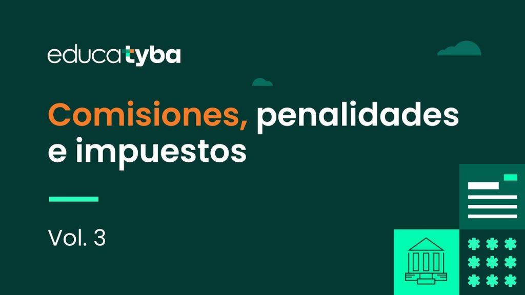 Comisiones, penalidades e impuestos